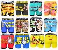 Mens Designer Novelty Rude Boxers Trunks Funny Christmas Gift Shorts Underwear