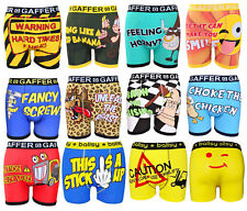 Mens Designer Novelty Rude Boxers Trunks Funny Christmas Gift Shorts Underwear
