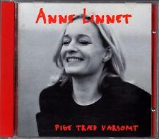 Anne Linnet – Pige Traed Varsomt - CD Album  1995
