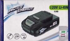 ACTIV ENERGY LI-ION BATTERY 20V 2,0Ah 36W LI-ION AKKU für Ferrex Geräte UN 3480