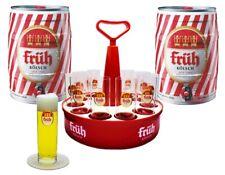 Früh Kölsch Party Set mit 2 Dosen Kölsch 5l 4,8% +Kranz + 12 Gläser 0,2l - Bier
