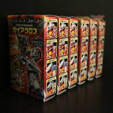 Transformers Kabaya GAIA LAND CROSS Gum Combiner Set of 6