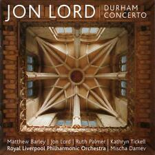 [NEW] CD: JON LORD: DURHAM CONCERTO