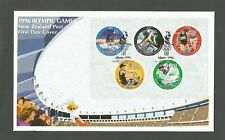 NEW ZEALAND 1996 OLYMPIC GAMES MINISHEET FDC SG,MS2013 LOT 6920A