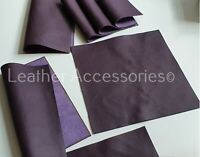 Many Size ORANGE high quality ITALY GENUINE LEATHER OFF CUT SAMPLE* PATCHWORK