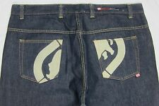 ECKO * 42 X 36 * COMPLEX Embroidered Logo Zip-Fly Jeans
