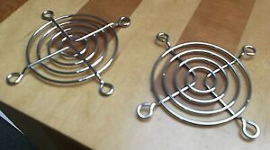 Fan Guard 60mm Fans Chrome 60 mm 4 Ring G60-4 Steel Wire x 2 pieces  or ONO