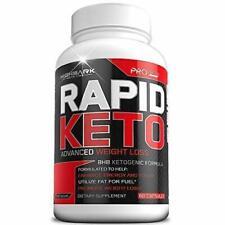 60 Rapid Keto Diet Pills | Advanced Ketogenic Diet Weight Loss Supplement | BHB