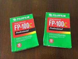 Fujifilm FP-100c instant colour film 2 packs - unopened