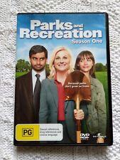 PARKS AND RECREATION–SEASON 1 - DVD, REGION- 4, LIKE NEW, FREE POST IN AUSTRALIA