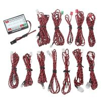 14pcs LED Flashing Light Lamp System for RC Aircraft Plane Glider Simulate