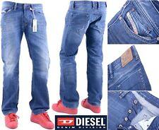 Diesel Viker para 0806L W31 L30 Hombre Denim Jeans Regular Fit Straight