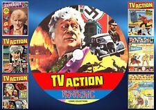 TV Action + Countdown + Fantastic UK Comics On DVD Rom