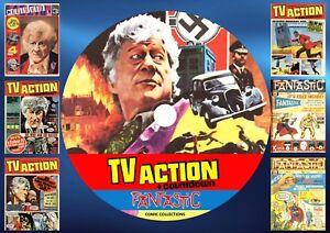 TV Action + Countdown + Fantastic UK Comics On PC DVD Rom (CBR FORMAT)