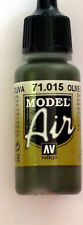 Vallejo Model Air Paint: 17ml  71015 Olive Grey