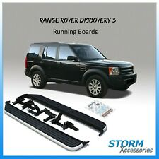 BRAND NEW AFTERMARKET RUNNING BOARDS / SIDE STEPS FOR LAND ROVER DISCOVERY 3