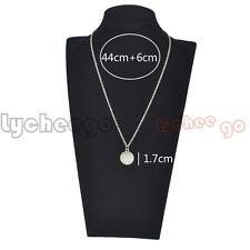 1X Emergency Alert Medical ID Pattern Pendant Charm Alloy Chain Necklace Fashion