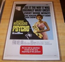 Alfred Hitchcock Psycho Norman Bates 11X17 Movie Poster