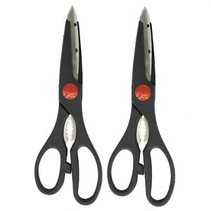 2 Pack Scissors Kitchen Household Office Stainless Steel Set