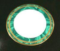 Beautiful Christian Dior Gaudron Malachite Large Rimmed Soup Bowl