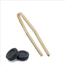 """6"""" Brass Charcoal Tongs for Incense"""