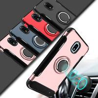 For Samsung Galaxy J3 2018/Star/Achieve Case Hybrid Rugged Ring Hard Armor Cover