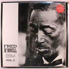 FRED MCDOWELL: Volume 2 LP Sealed (180 gram reissue, w/ download card)