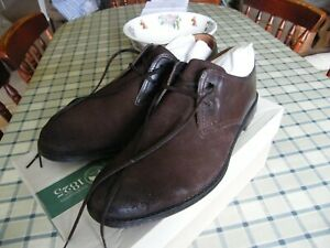 Brand New Mens Dark Brown Combi Clarks Hawkley Walk Shoes Size 8 1/2 G