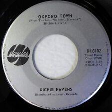 RICHIE HAVENS 45 Oxford Town/C.C. Rider DOUGLAS folk rock VG++ d1881