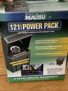 NEW Malibu ML121RT Low Voltage Landscape Lighting Transformer 121 Watt FREE SHIP
