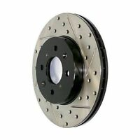 StopTech 127.39035L Front Disc Brake Rotor Drilled/Slotted For 04-07 Volvo S60