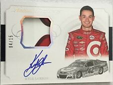 Kyle Larson 4/15 2016 National Treasures Auto Autograph Race Used Sheetmetal #42