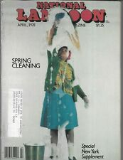 NATIONAL LAMPOON THE HUMOR MAGAZINE APRIL 1978 (VG+)