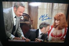 MEL BROOKS SIGNED 11x17 PHOTO DC/COA BLAZING SADDLES (LEGEND) PROOF 1