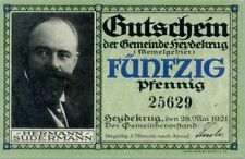 Heydekrug (Memelgebiet) 50 pfennig 1921 AU