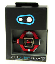 CRANK BROTHERS CANDY 7 MOUNTAIN BIKE PEDALS RED