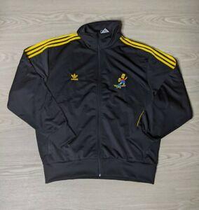 Adidas The Simpsons Bart Simpsion Firebird Track Jacket Size XL Men's  HA5814