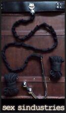 Bondage restraints collar rope posture  hook gimp fetish BDSM dominatrix kit