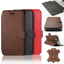 Mobiwear Hülle Motorola One Zoom | Echt Leder Leather Tasche Handy Case Cover