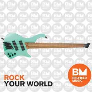 Ibanez EHB1005MS Bass Guitar 5-String Multi-Scale Matte Sea Foam Green w/ Gigbag