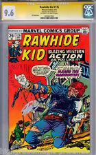RAWHIDE KID #126 CGC 9.6 OWW STAN LEE SS SIGNED SINGLE HIGHEST GRADED 0024837001