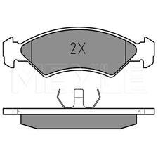 Ford Fiesta 1x Bremsbelagsatz Scheibenbremse Bremsscheiben Bremsen Vorderachse