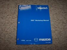 2007 Mazda Mazda5 5 Workshop Shop Service Repair Manual Sport Grand Touring 2.3L