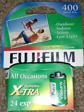 New! FujiFilm NPH 400 Speed 24 Exposure Superia X-tra Film