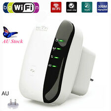 Wifi Wireless 300Mbps 802.11n AP Repeater Router Range Extender Booster AU PLUG