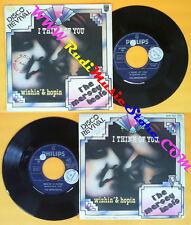 LP 45 7'' THE MERSEYBEATS I think of you Wishin'& hopin 1963 italy no cd mc dvd