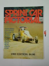 Sprint Car Pictorial 1983 Edition USAC Sprint Dirt Champ Review Yearbook