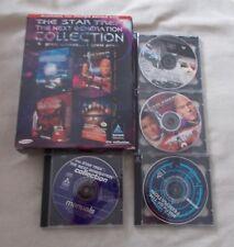 PC CD GAME - Star Trek The Next Generation Collection - Ltd Edition - VGC