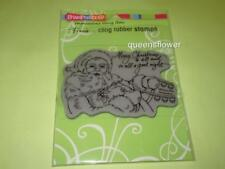 STAMPENDOUS FRAN'S CLING RUBBER STAMPS TO ALL A GOOD NIGHT