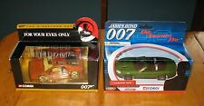 Corgi James Bond Lotus Esprit Turbo & Jaguar XKR with Box FREE SHIPPING